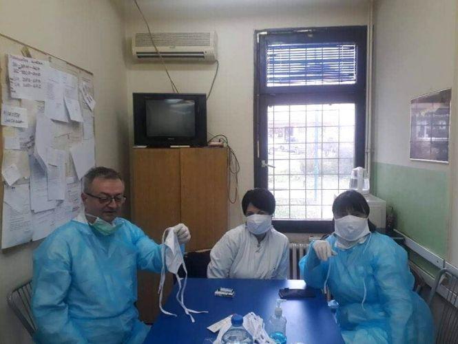 donacije.rs pokrivalice maske zdravstveni radnici